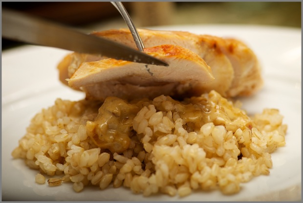 Chicken Breasts Diable On Rice Served Up rachellekweymuller