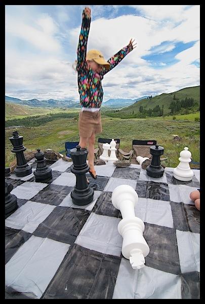 Life Size Chess Game Won RKWeymuller Weymuller Photography