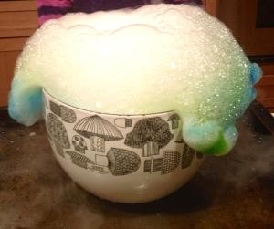 "<img src= ""http://www.caramelizelife.com rachellekweymuller.jpg"" width= ""2149"" height= ""1804"" alt= ""Dry Ice With Food Coloring Fun caramelizelife.com rachellekweymuller""/>"