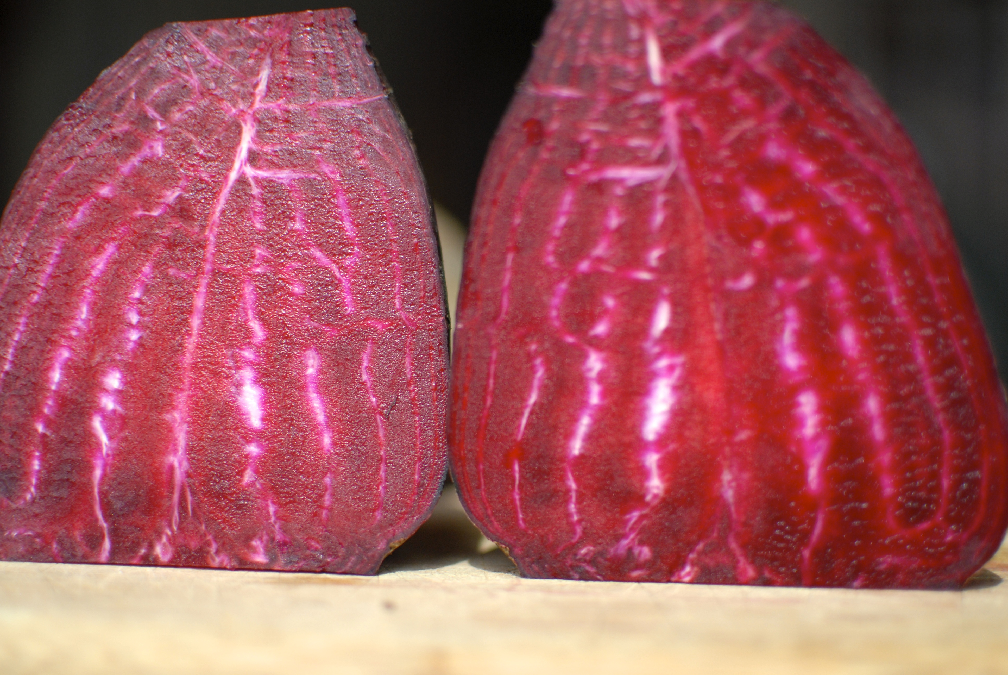 Halved Beets