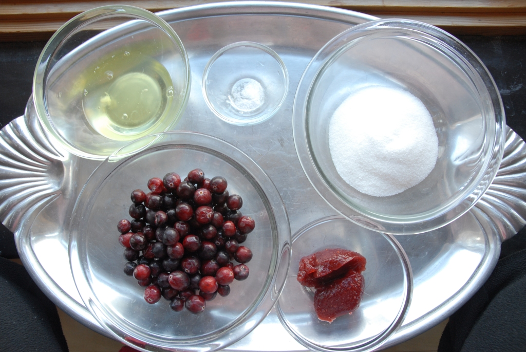Cranberry Crackle Ingredients
