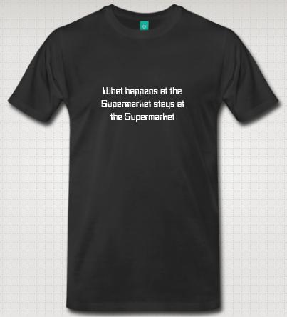 Supermarket T-shirt