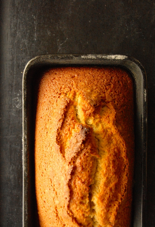 Dorie Greenspans, Brown Butter Vanilla Bean Weekend Cake On http://www.caramelizelife.com