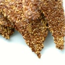 Caramelizelife makes Merida Anderson's Sesame Flax Crackers