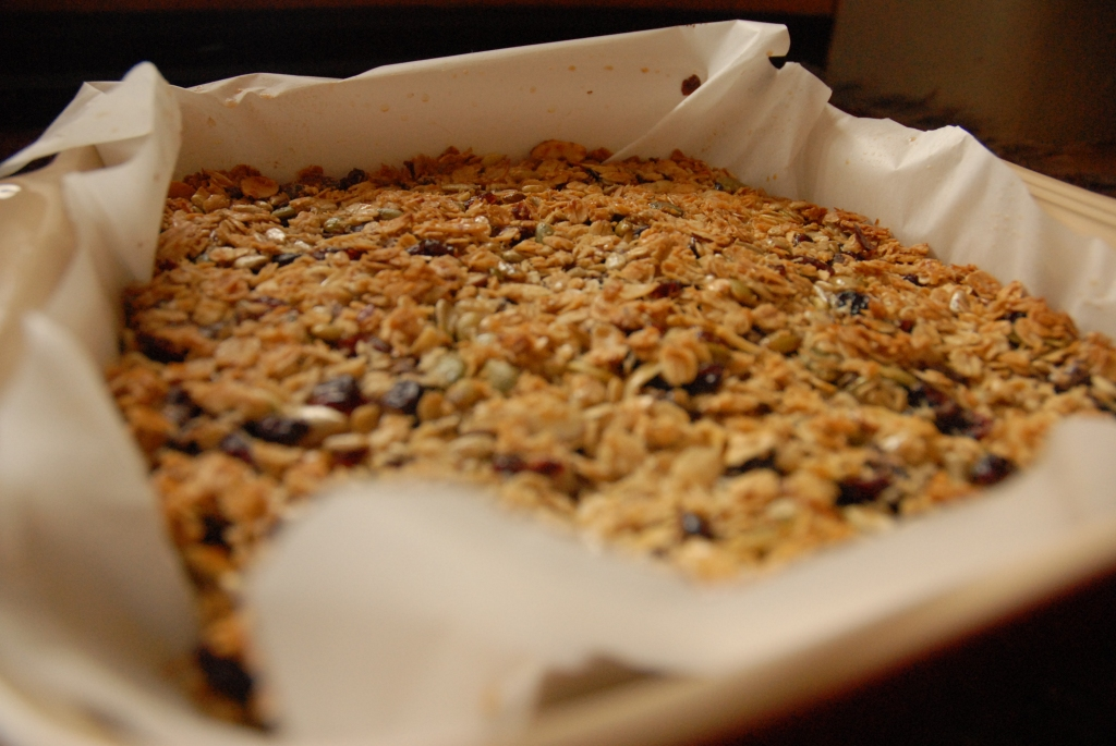 Caramelize Life makes Granola Energy Bars with Tuesdays with Dorie