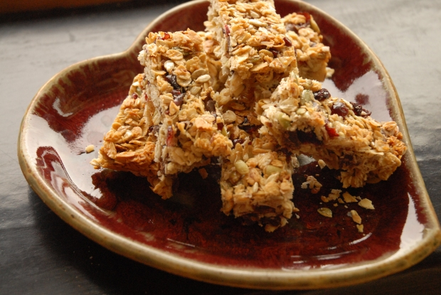 Granola Energy Bars- Tuesdays With Dorie and Caramelizelife